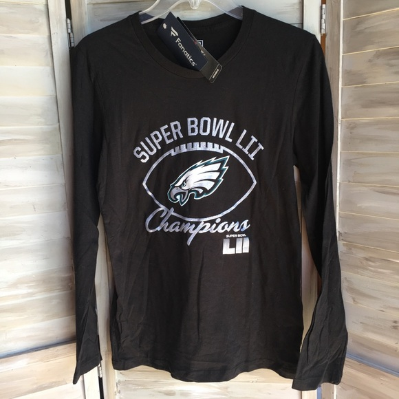 ae591123b62 Fanatics Tops | Philadelphia Eagles Sz S Super Bowl Champs Tshirt ...